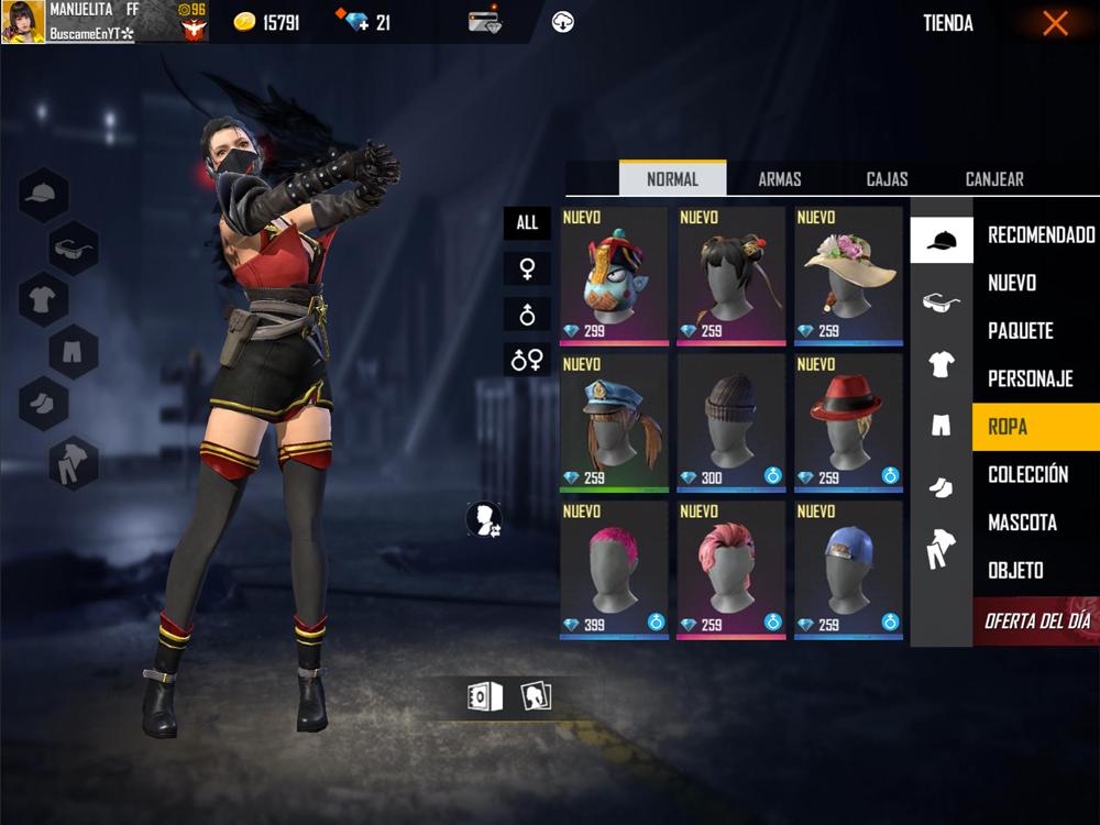 cómo comprar skins de Free Fire gratis